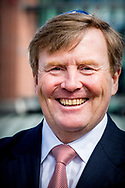 AMSTERDAM - King Willem Alexander Opening of exhibition at the Jewish Historical Museum, Amsterdam, Netherlands - 17 Apr 2018 copyright robin utrecht