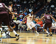 "Ole Miss' Terrance Henry (1) vs. Louisiana Monroe at the C.M. ""Tad"" Smith Coliseum in Oxford, Miss. on Friday, November 11, 2011. Ole Miss won 60-38 in the season opener."