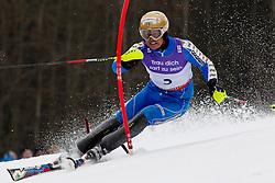 19.02.2011, Gudiberg, Garmisch Partenkirchen, GER, FIS Alpin Ski WM 2011, GAP, Herren, Slalom, im Bild Mattias Hargin (SWE) // Mattias Hargin (SWE) during Men's Slalom Fis Alpine Ski World Championships in Garmisch Partenkirchen, Germany on 20/2/2011. EXPA Pictures © 2011, PhotoCredit: EXPA/ M. Gunn