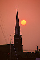 Annapolis, Maryland--  St. Mary's Catholic Church in the Historic District of Annapolis was built on the property of Revolutionary patriot Charles Carroll of Carrollton, the only Catholic signer of the Declaration of Independence . The church was concencrated in 1860.