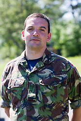 David Patterson..Exercise Guards Warrior with the Scots Guards at their Catterick base..Pic ©2010 Michael Schofield. All Rights Reserved.
