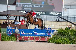 STERNLICHT Adrienne (USA), Cristalline<br /> Tryon - FEI World Equestrian Games™ 2018<br /> FEI World Individual Jumping Championship<br /> Third cometition - Round A<br /> 3. Qualifikation Einzelentscheidung 1. Runde<br /> 23. September 2018<br /> © www.sportfotos-lafrentz.de/Stefan Lafrentz