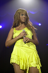 Beyonce Knowles on her Dangerously In Love 2003 UK tour at Sheffields Hallam FM Arena<br /> <br /> 7 November 2003<br /> <br /> Image © Paul David Drabble <br /> www.pauldaviddrabble.co.uk