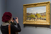 The Quai du Louvre, 1867 - The Credit Suisse Exhibition: Monet & Architecture a new exhibition in the Sainsbury Wing at The National Gallery.
