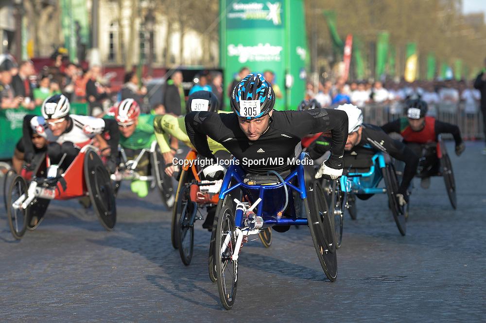Julien Casoli - 12.04.2015 - Marathon de Paris 2015<br />Photo :  Andre Ferreira  / Icon Sport