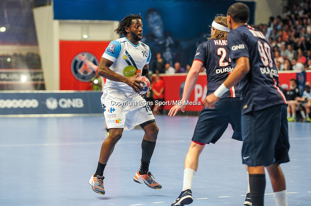 Erwan Siakam - 22.04.2015 - PSG / Creteil - 21eme journee de D1<br /> Photo : Andre Ferreira / Icon Sport