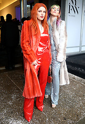 Bella Thorne and sister Dani Thorne attending the Sally LaPointe Show during New York Fashion Week. 12 Feb 2019 Pictured: Bella Thorne, Dani Thorne. Photo credit: MEGA TheMegaAgency.com +1 888 505 6342