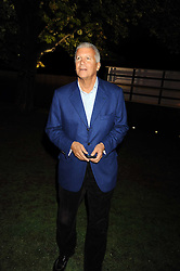 LARRY GAGOSIAN at the annual Serpentine Gallery Summer Party in Kensington Gardens, London on 9th September 2008.