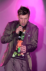 Jamie Pearce supporting Liberty -X at Sheffield City Hall March 18 2003<br /><br />Copyright Paul David Drabble<br /> [#Beginning of Shooting Data Section]<br />Nikon D1 <br /> 2003/03/18 19:42:11.2<br /> JPEG (8-bit) Fine<br /> Image Size:  2000 x 1312<br /> Color<br /> Lens: 80-200mm f/2.8-2.8<br /> Focal Length: 100mm<br /> Exposure Mode: Manual<br /> Metering Mode: Spot<br /> 1/250 sec - f/2.8<br /> Exposure Comp.: 0 EV<br /> Sensitivity: ISO 800<br /> White Balance: Auto<br /> AF Mode: AF-S<br /> Tone Comp: Normal<br /> Flash Sync Mode: Front Curtain<br /> Auto Flash Mode: External<br /> Color Mode: <br /> Hue Adjustment: <br /> Sharpening: Normal<br /> Noise Reduction: <br /> Image Comment: <br /> [#End of Shooting Data Section]