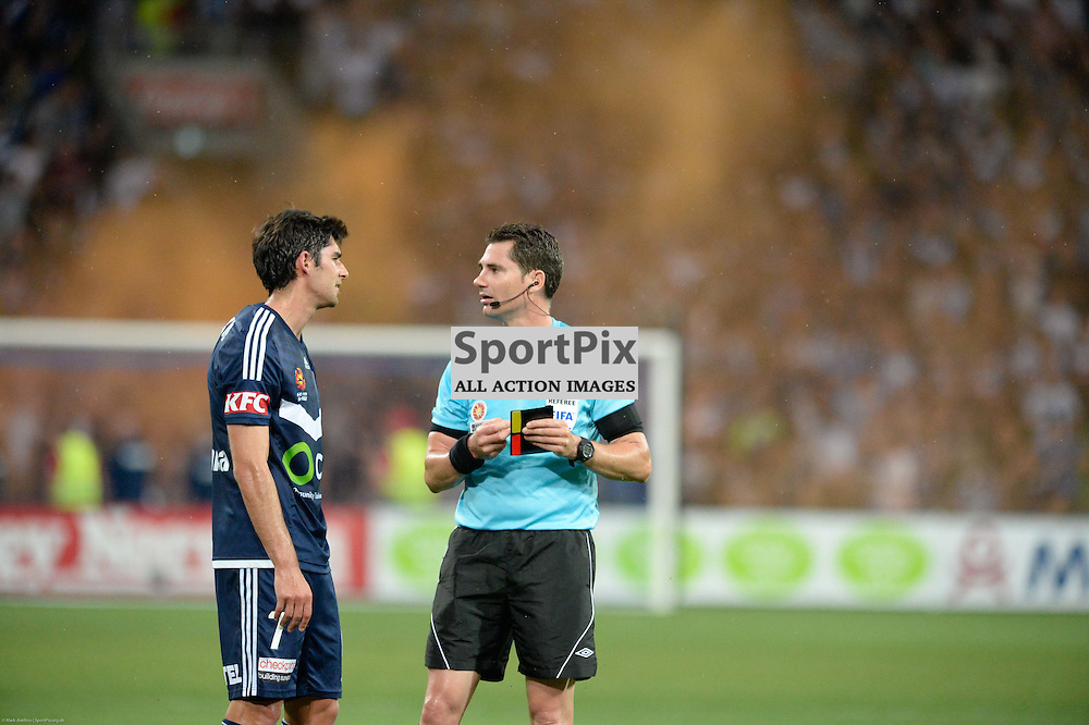 Gui Finkler of Melbourne Victory - Hyundai A-League, 19th December 2015, RD11 match between Melbourne City FC v Melbourne Victory FC at Aami Park in a 2:1 win to City in front of a 23,000+ crowd. Melbourne Australia. © Mark Avellino | SportPix.org.uk