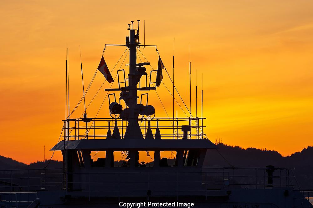 Gabriola Ferry, Quinsam Queen,  Gabriola Island,  Gabriola Island Ferry Dock,  British Columbia,  Canada,  (Photographer;  Isobel Springett),