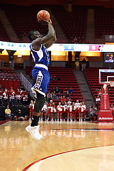 22 December 2015:  Samson Oyediran(13).Illinois State Redbirds host the Tennessee State Tigers at Redbird Arena in Normal Illinois (Photo by Alan Look)