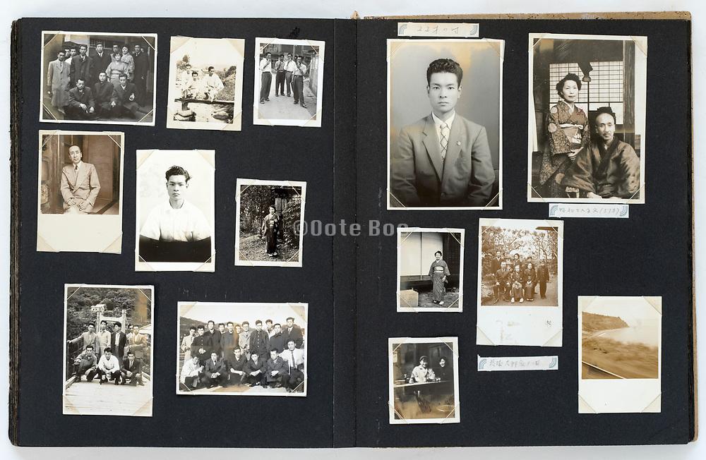 Japan 1940s - 1960s family photo album