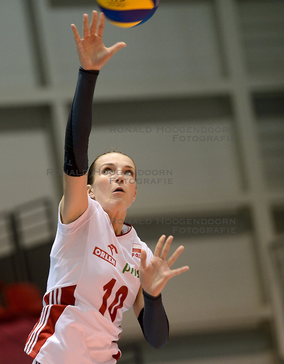 09-08-2014 NED: FIVB Grand Prix Puerto Rico - Polen, Doetinchem<br /> Daria Paszek
