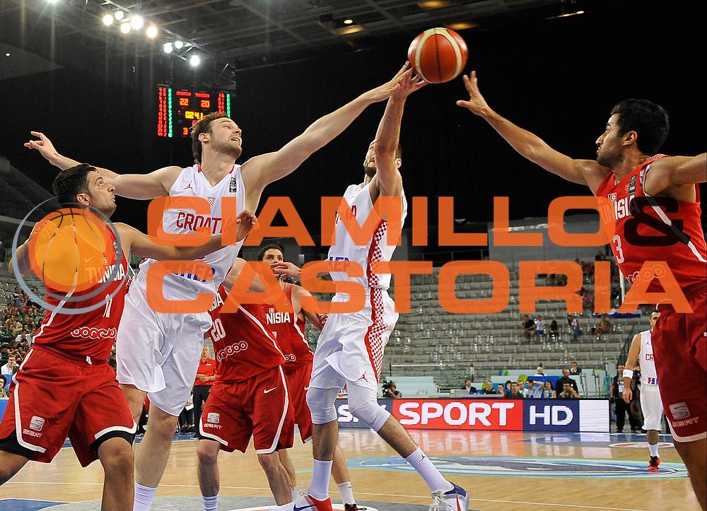 DESCRIZIONE: Torino FIBA Olympic Qualifying Tournament  Croazia Tunisia<br /> GIOCATORE: Bogdanovic Bojan<br /> CATEGORIA: CROATIA CROAZIA<br /> GARA: FIBA Olympic Qualifying Tournament Croazia Tunisia<br /> DATA: 06/07/2016<br /> AUTORE: Agenzia Ciamillo-Castoria