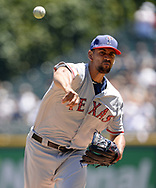 CHICAGO - JULY 02:  Tyson Ross #44 of the Texas Rangers pitches against the Chicago White Sox on July 2, 2017 at Guaranteed Rate Field in Chicago, Illinois.  The White Sox defeated the Rangers 6-5.  (Photo by Ron Vesely) Subject:   Tyson Ross