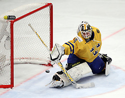 11.05.2012, Ericsson Globe, Stockholm, SWE, IIHF, Eishockey WM, Russland (RUS) vs Schweden (SWE), im Bild Russia 11 Yevgeni Malkin (Pittburgh Penguins) scores his third goal of the game // during the IIHF Icehockey World Championship Game between Russia (RUS) and Sweden (SWE) at the Ericsson Globe, Stockholm, Sweden on 2012/05/11. EXPA Pictures © 2012, PhotoCredit: EXPA/ PicAgency Skycam/ Morten Christensen..***** ATTENTION - OUT OF SWE *****
