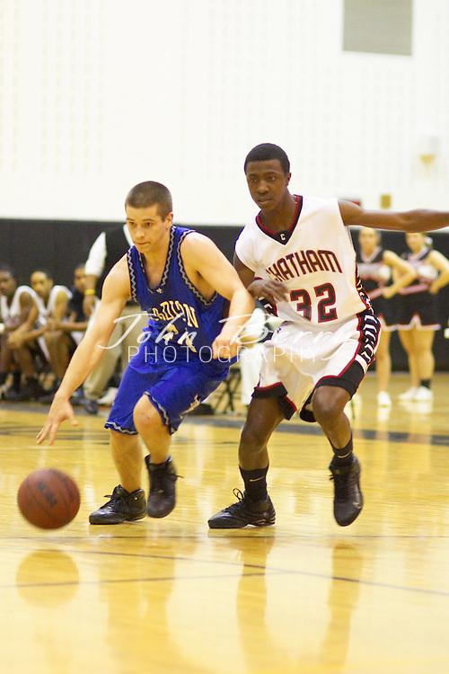 MCHS Boys Basketball..vs Chatham Cavaliers..Regional Semi-Final..February 26, 2005
