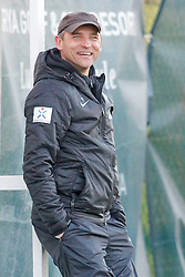 09.01.2015, Hotel Regnun Carya, Belek, TUR, FS Vorbereitung, Fussball Testspiel, SV Werder Bremen vs FC Energie Cottbus, im Bild Trainer Viktor Skripnik (SV Werder Bremen) // during a international football frindly match between SV Werder Bremen vs FC Energie Cottbus at the Hotel Regnun Carya in Belek, Turkey on 2015/01/09. EXPA Pictures © 2015, PhotoCredit: EXPA/ Eibner-Pressefoto/ Schueler<br /> <br /> *****ATTENTION - OUT of GER*****