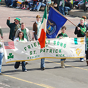 The 51st Detroit St. Patrick's Day Parade. March 15, 2009.