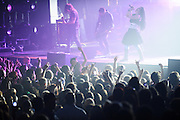 Evanescence performing at a sold out show at the Pageant in St. Louis, Missouri on April 25, 2012.