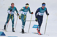 Great Britain's Callum Smith in the Men's 50km Mass Start Classic at the Alpensia Cross Country Centre during day fifteen of the PyeongChang 2018 Winter Olympic Games in South Korea.