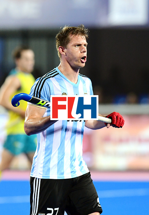 Odisha Men's Hockey World League Final Bhubaneswar 2017<br /> Match id:22<br /> Argentina v Australia Final<br /> Foto: Lucas Rossi (Arg) <br /> COPYRIGHT WORLDSPORTPICS FRANK UIJLENBROEK