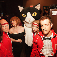 Julie Klauser, Varsity Interpretive Dance Squad - How Was Your Week Live - The Bell House, Brooklyn - June 27, 2012
