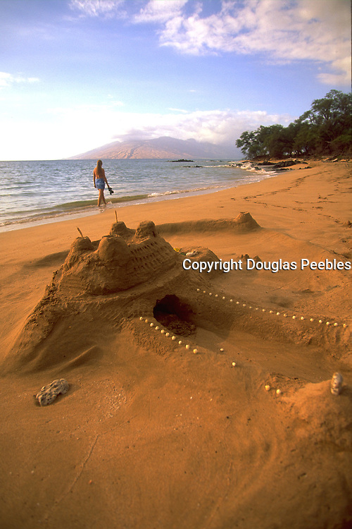 Sand Castle, Wailea, Wailea Beach, Maui, Hawaii, USA<br />