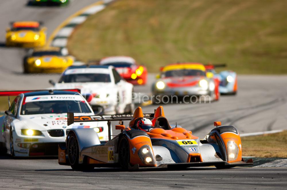 #05 Core Autosport Oreca FLM09: Jon Bennett, Frankie Montecalvo, Ryan Dalziel