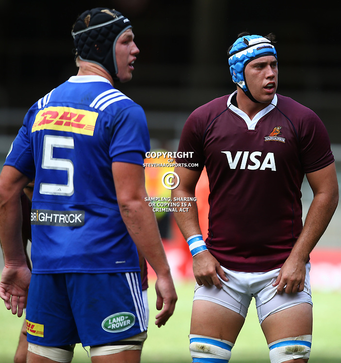 CAPE TOWN, SOUTH AFRICA - FEBRUARY 13: Matias Alemanno of the Jaguares during the Super Rugby Pre Season match between DHL Stormers and Jaguares at DHL Newlands Stadium on February 13, 2016 in Cape Town, South Africa. (Photo by Steve Haag/Gallo Images)