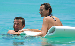EXCLUSIVE: Former British football Tim Sherwood and wife Mia are spotted on the beach in Barbados. 29 Jul 2017 Pictured: Tim Sherwood. Photo credit: Chris Brandis-Islandpaps.com/MEGA TheMegaAgency.com +1 888 505 6342