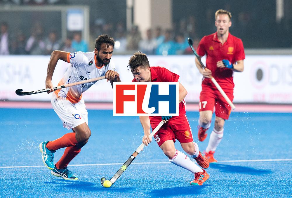 Odisha Men's Hockey World League Final Bhubaneswar 2017<br /> Match id:05<br /> 06 IND v ENG (Pool B)<br /> Foto: James Gall (Eng) <br /> WORLDSPORTPICS COPYRIGHT FRANK UIJLENBROEK