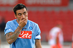 03.08.2010, Stadio San Paolo, Neapel, ITA, Friendly Match, SSC Neapoli vs VFL Wolfsburg, im Bild ezequiel lavezzi (napoli).EXPA Pictures © 2010, PhotoCredit: EXPA/ InsideFoto/ Massimo Oliva +++++ ATTENTION - FOR AUSTRIA AND SLOVENIA CLIENT ONLY +++++. .. / SPORTIDA PHOTO AGENCY