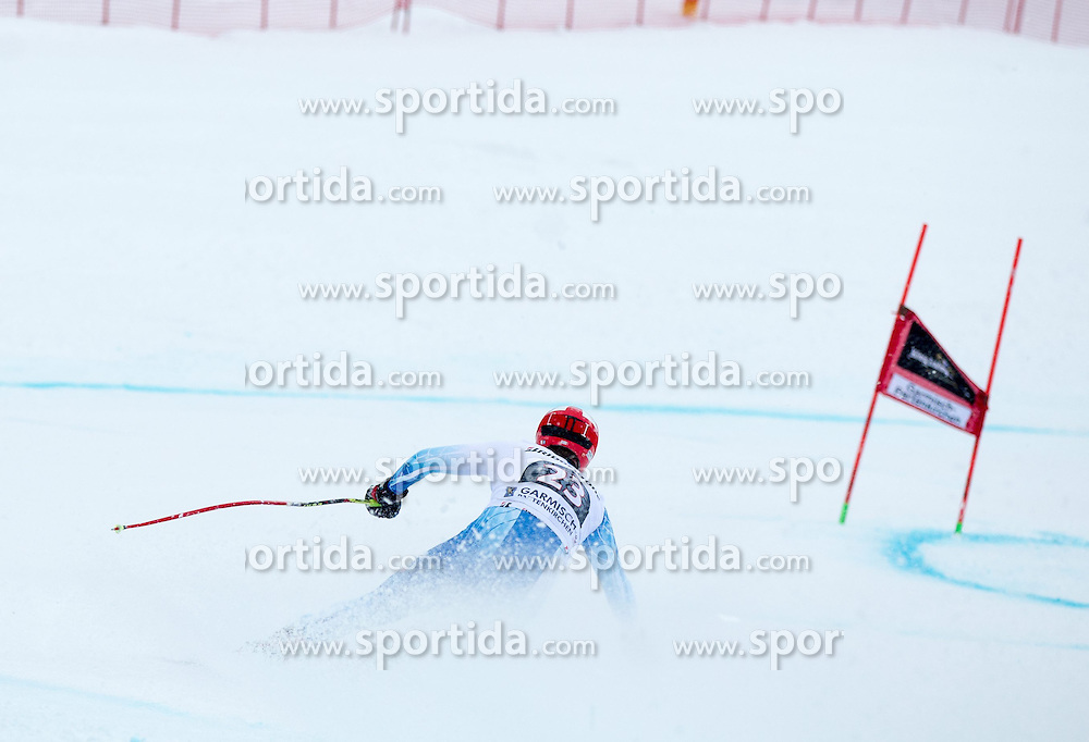 28.02.2015, Kandahar, Garmisch Partenkirchen, GER, FIS Weltcup Ski Alpin, Abfahrt, Herren, im Bild Marco Sullivan (USA) // Marco Sullivan of the USA in action during the men's Downhill of the FIS Ski Alpine World Cup at the Kandahar course, Garmisch Partenkirchen, Germany on 2015/02/28. EXPA Pictures © 2015, PhotoCredit: EXPA/ Johann Groder