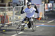 October 14, 2018 - Paris, France - Arrivee athlete handisport (Credit Image: © Panoramic via ZUMA Press)