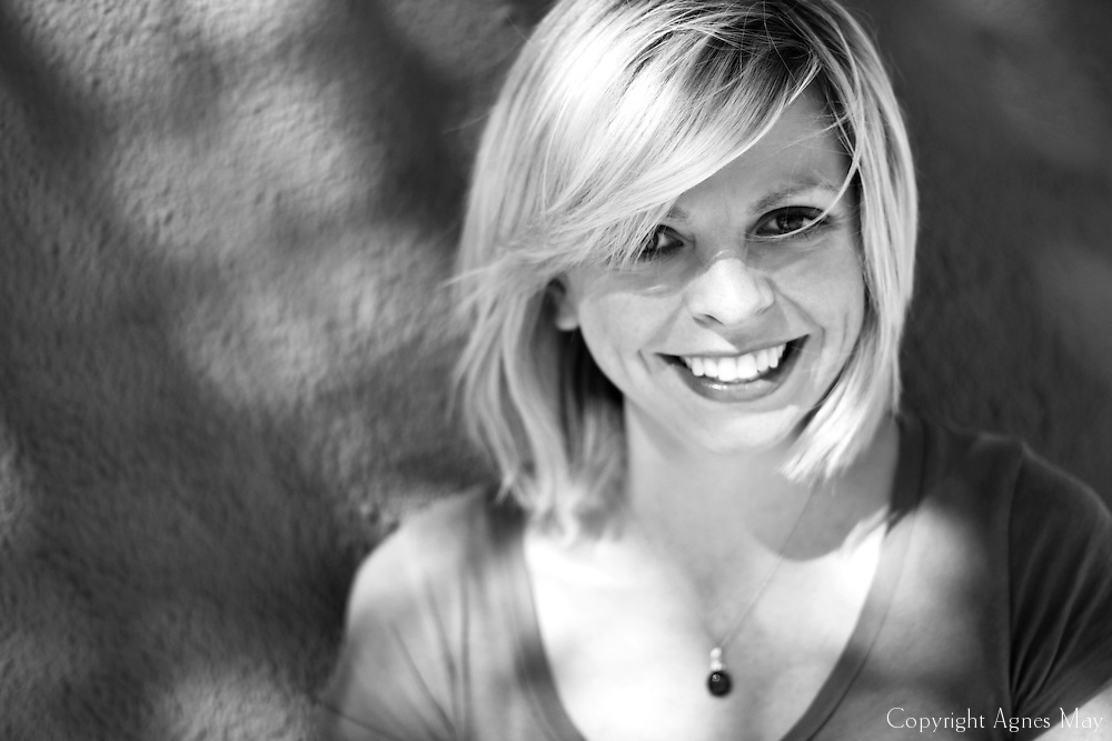 Mix of portrait and headshot photography of Jennifer Corley, a writer in Hollywood, CA.