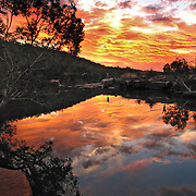 Sunset over the Kimberly, Drysdale National Park, Australia. Photo by Jen Klewitz