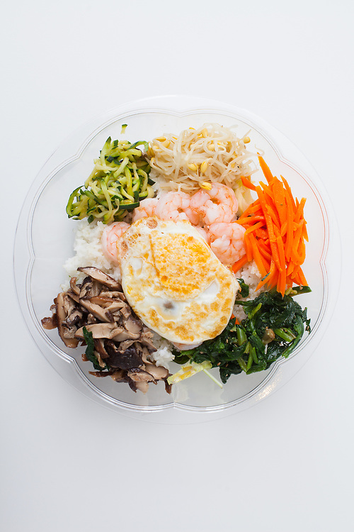 Shrimp Bibimbap from Cafe Manna ($11.43)