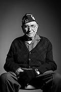 Artie D. Young<br /> Air Force<br /> Sergeant<br /> RAF Spitfire Engine Mechanic<br /> 1939 - 1965<br /> WWII<br /> <br /> Veterans Portrait Project<br /> Austin, TX