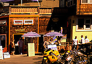 Image of Alki Beach eateries in West Seattle, Washington, Pacific Northwest