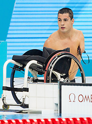 Darko Duric of Slovenia during the Men's 200m Freestyle S4 Final of Swimming competition during Day 10 of the Summer Paralympic Games London 2012 on September 7, 2012, in  Aquatics centre, London, Great Britain. (Photo by Vid Ponikvar / Sportida.com)