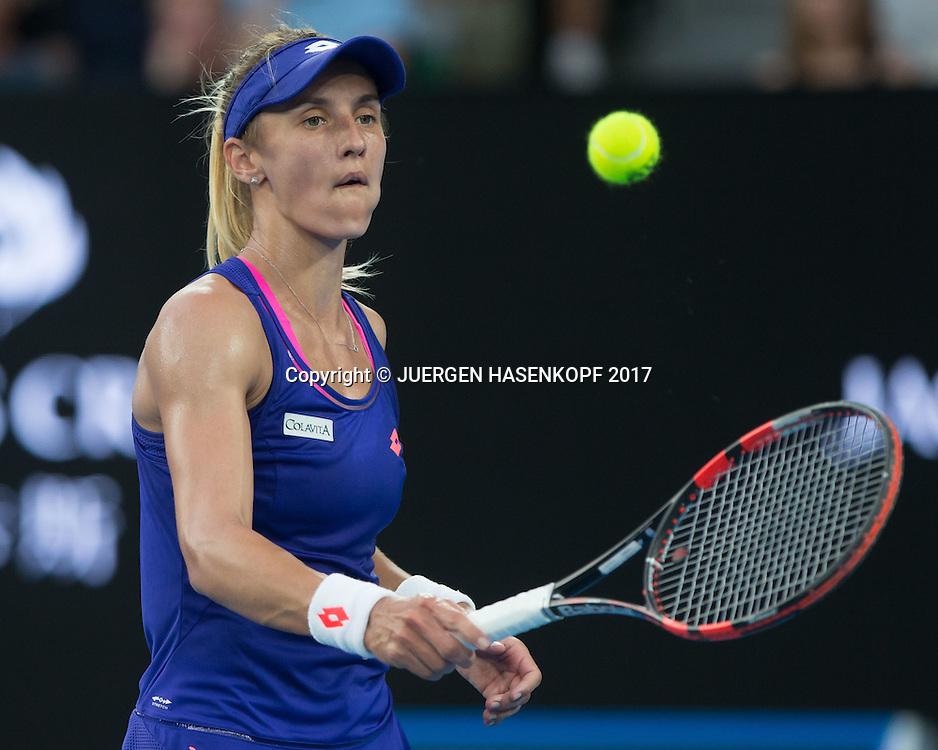 LESIA TSURENKO (UKR)<br /> <br /> Australian Open 2017 -  Melbourne  Park - Melbourne - Victoria - Australia  - 16/01/2017.