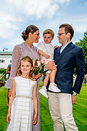 SOLLIDEN OLAND - Prince Daniel, Princess Estelle, Crown princess Victoria Crown Princess Victoria's 41st birthday, Oland, Sweden - 14 Jul 2018 ROBIN UTRECHT