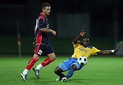 Sunday Chibuke Ibeji (10) of Koper  at 1st game of UEFA Cup  Qualifying Round 1 between FC Anet Koper, Slovenia vs KS Vllaznia Shkoder, Albania, on July 17, 2008, in Nova Gorica, Slovenia. Vlazznia won the match 2:1. (Photo by Vid Ponikvar / Sportal Images)
