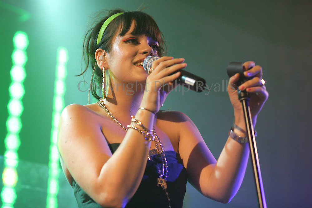 Lily Allen, Bush Hall, London 17th July 2006