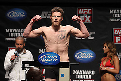 Atlantic City, NJ - June 21, 2012: Dan Miller at the weigh-ins for UFC on FX 4 at Ovation Hall at Revel Resort & Casino in Atlantic City, New Jersey.