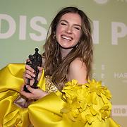 NLD/Amsterdam/20200211 - Uitreiking Edison Pop 2020, Maan de Steenwinkel en haar award