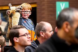 Wolverhampton Wanderers fans arrive at Molineux to see their team play Manchester City - Mandatory by-line: Robbie Stephenson/JMP - 25/08/2018 - FOOTBALL - Molineux - Wolverhampton, England - Wolverhampton Wanderers v Manchester City - Premier League