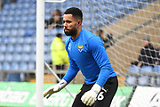 Oxford United goalkeeper Jordan Archer (26) during the EFL Sky Bet League 1 match between Oxford United and Shrewsbury Town at the Kassam Stadium, Oxford, England on 7 December 2019.